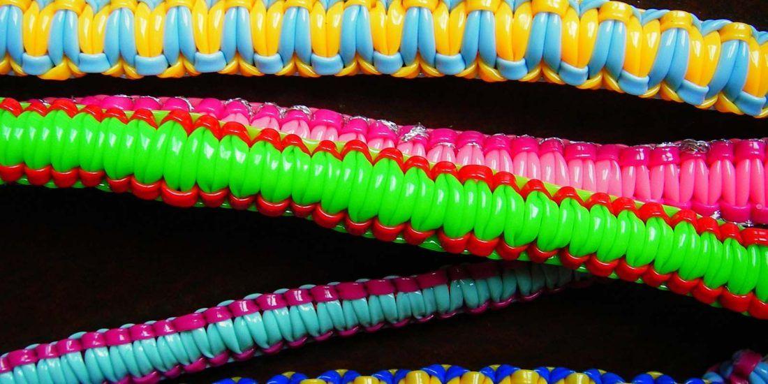 Realisation bracelet en scoubidou - Multicolore - Yazbukey - Printemps-ete 2012 - 1