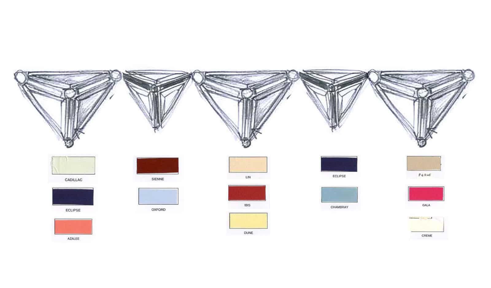 Croquis studio – Broderies Sonia Rykiel – Perles effet 3D – Printemps ete 2013