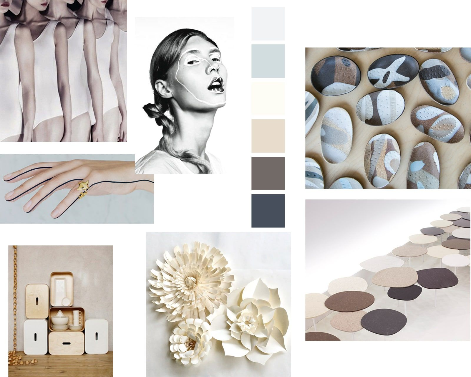 Moodboard – Graphic and natural – Mode femme