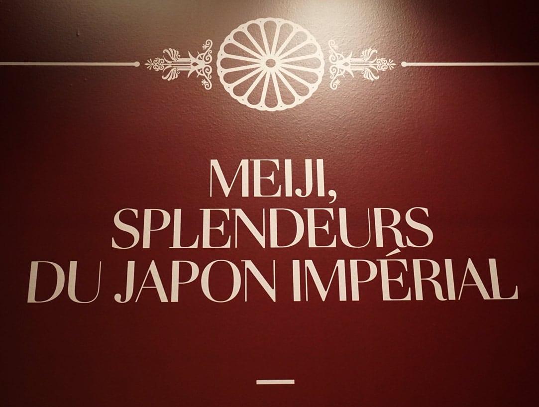 Exposition Musee Guimet - Meiji - splendeurs du Japon Imperial - Blog Janvier 2019 - 1