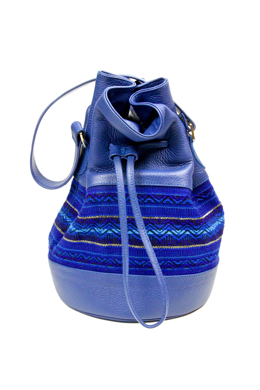 Collection printemps ete 2019 – Sac seau bleu royal – Yacana