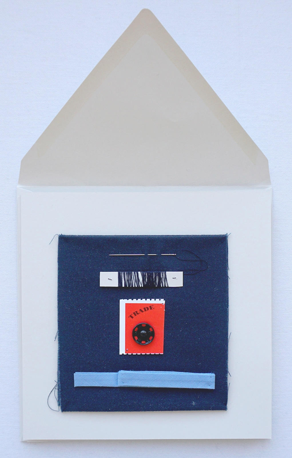 Kit d entretien – Boutons pression biais fil aiguille tissu – Veste – Projet Bleu – Studio sur-mesure