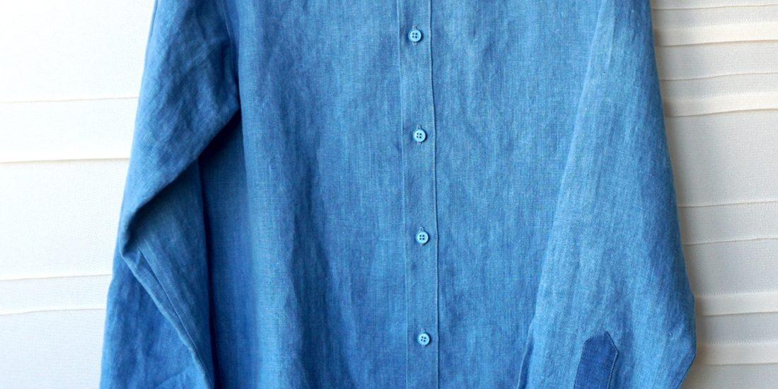 Modele final de chemise - Projet Bleu - Studio sur-mesure